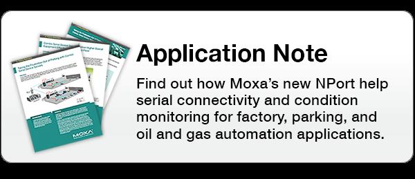 NPort Wireless Serial Device Server with I/O   Moxa