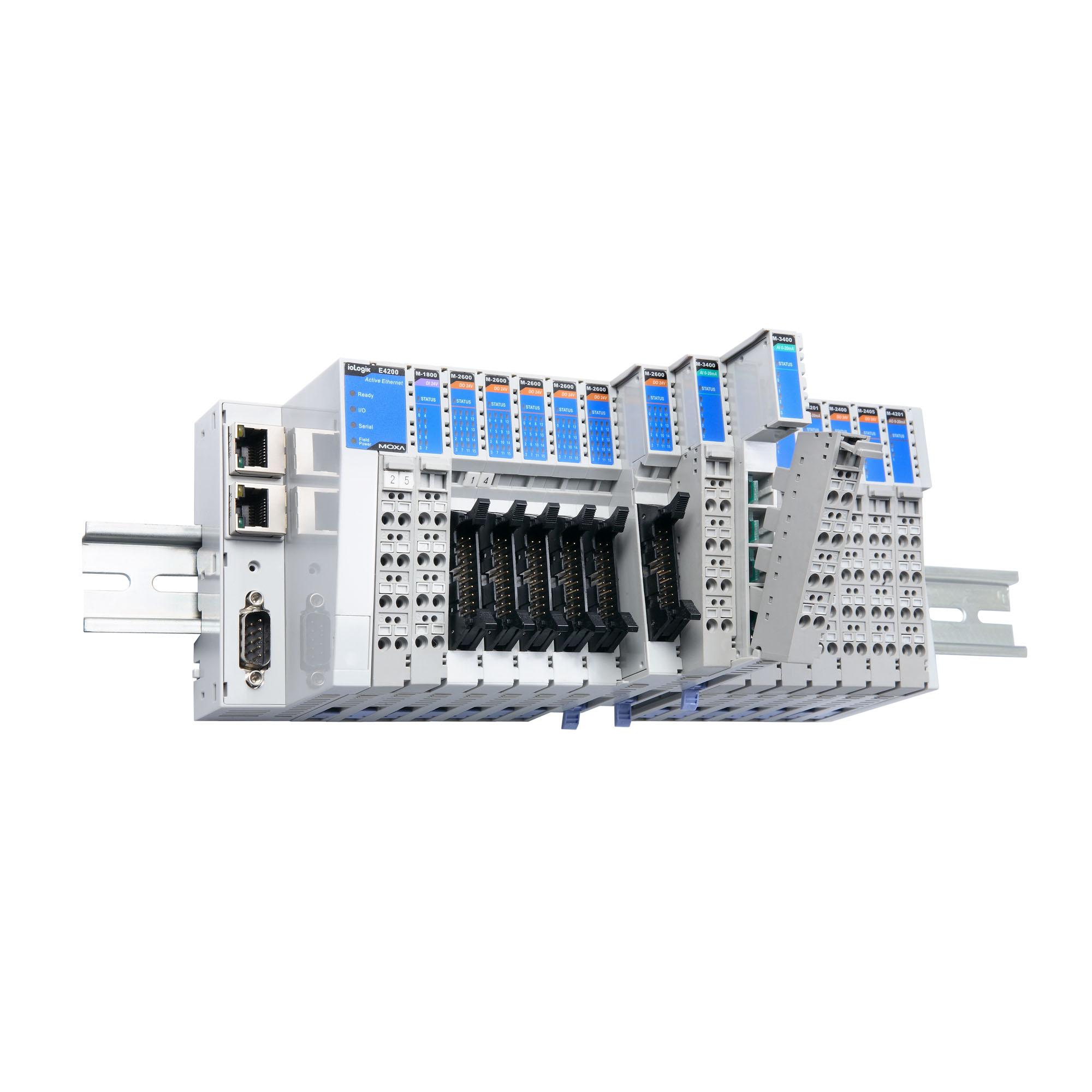 ioLogik 4000 Series - Universal Controllers & I/Os   MOXA