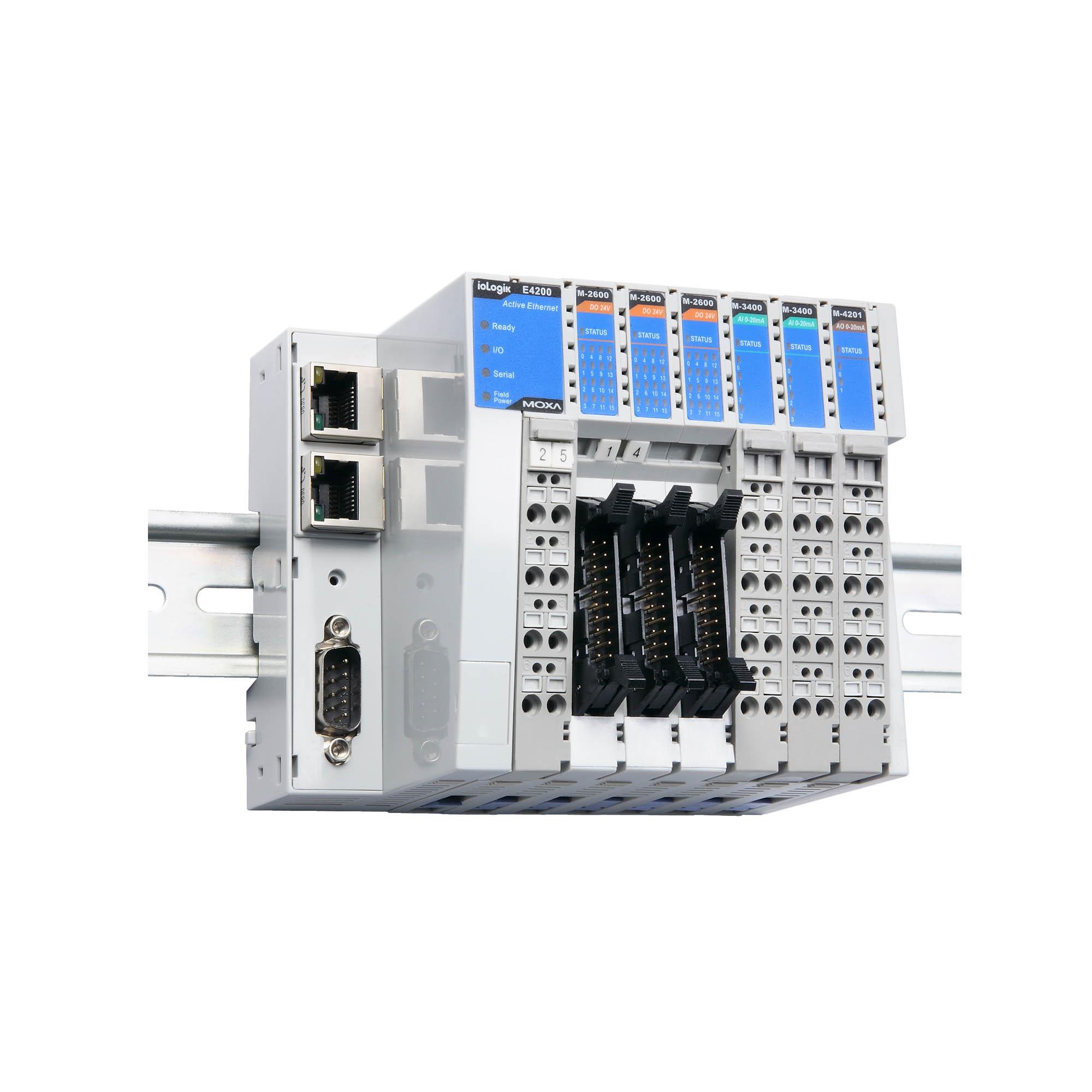 MOXA iOLogik 4000 slice I//O Server I//0 M1601 Modul Karte Board M-1601 OVP