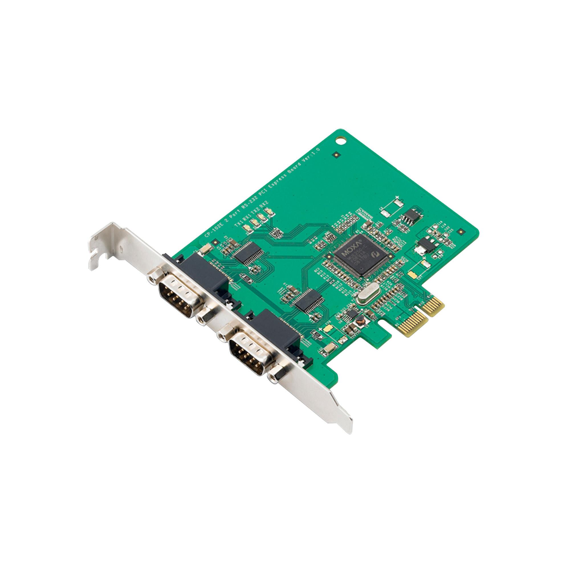CP-102E/102EL Series - PCIe/UPCI/PCI Serial Cards | MOXA