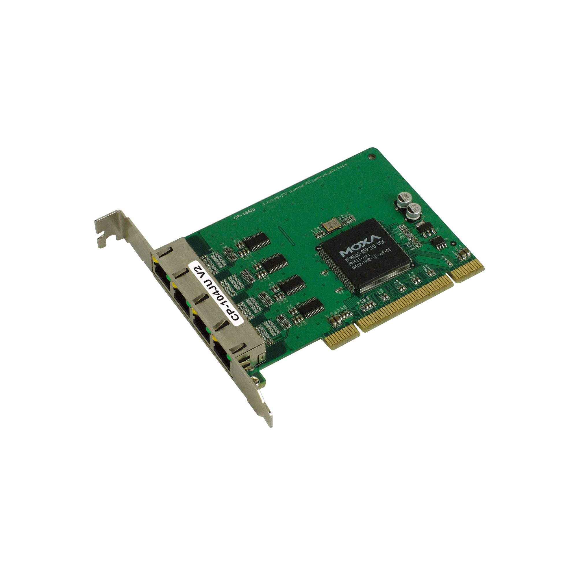 CP-104UL/104JU Series - PCIe/UPCI/PCI Serial Cards | MOXA