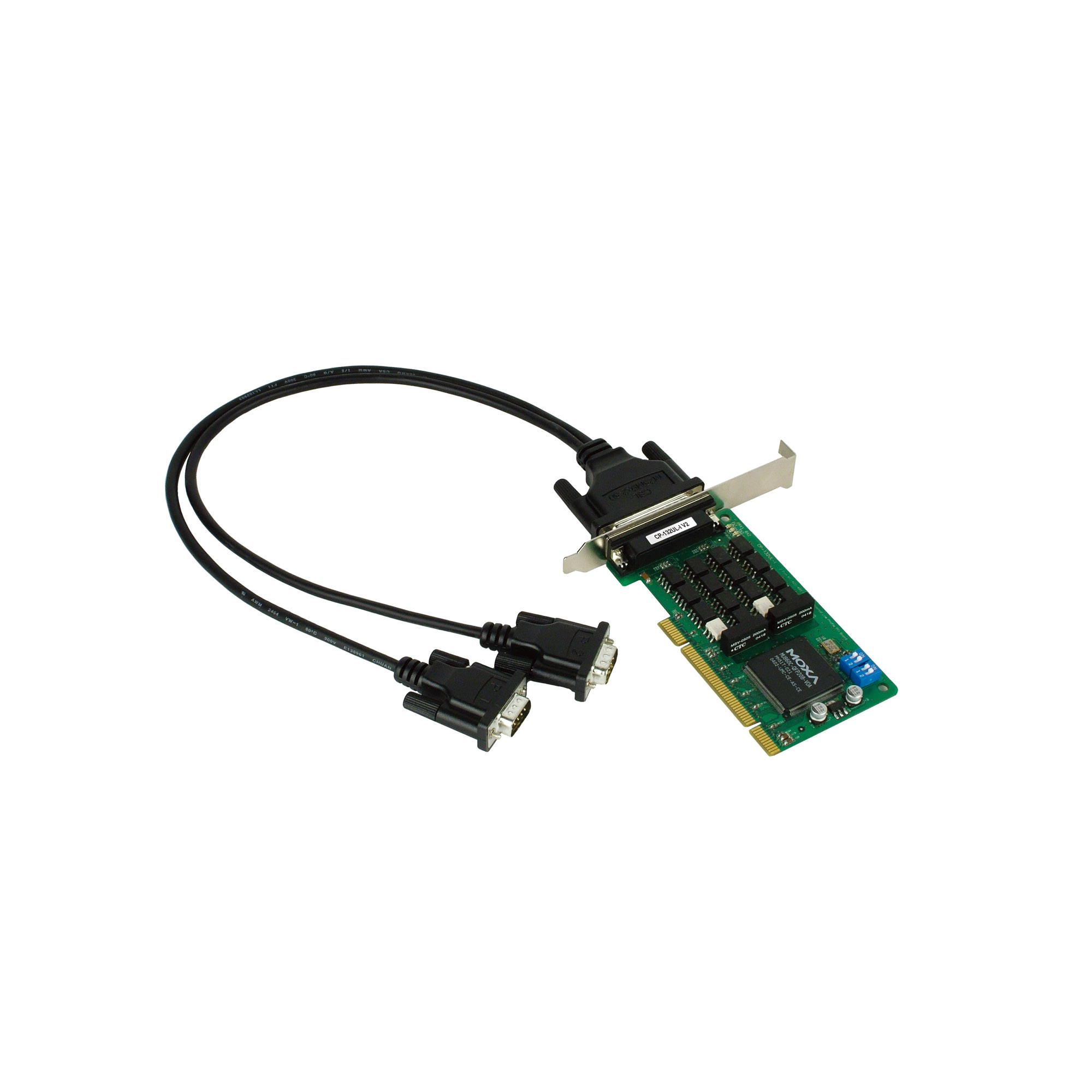 CP-132UL Series - PCIe/UPCI/PCI Serial Cards   MOXA