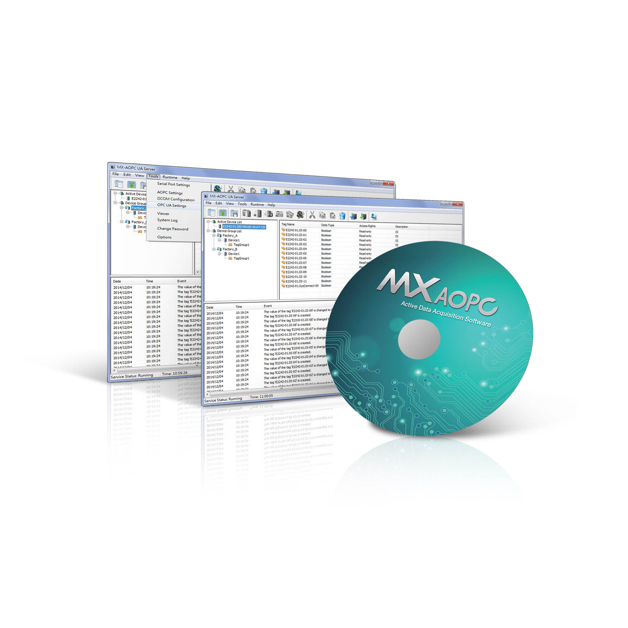 MX-AOPC UA Suite - OPC UA Software | MOXA