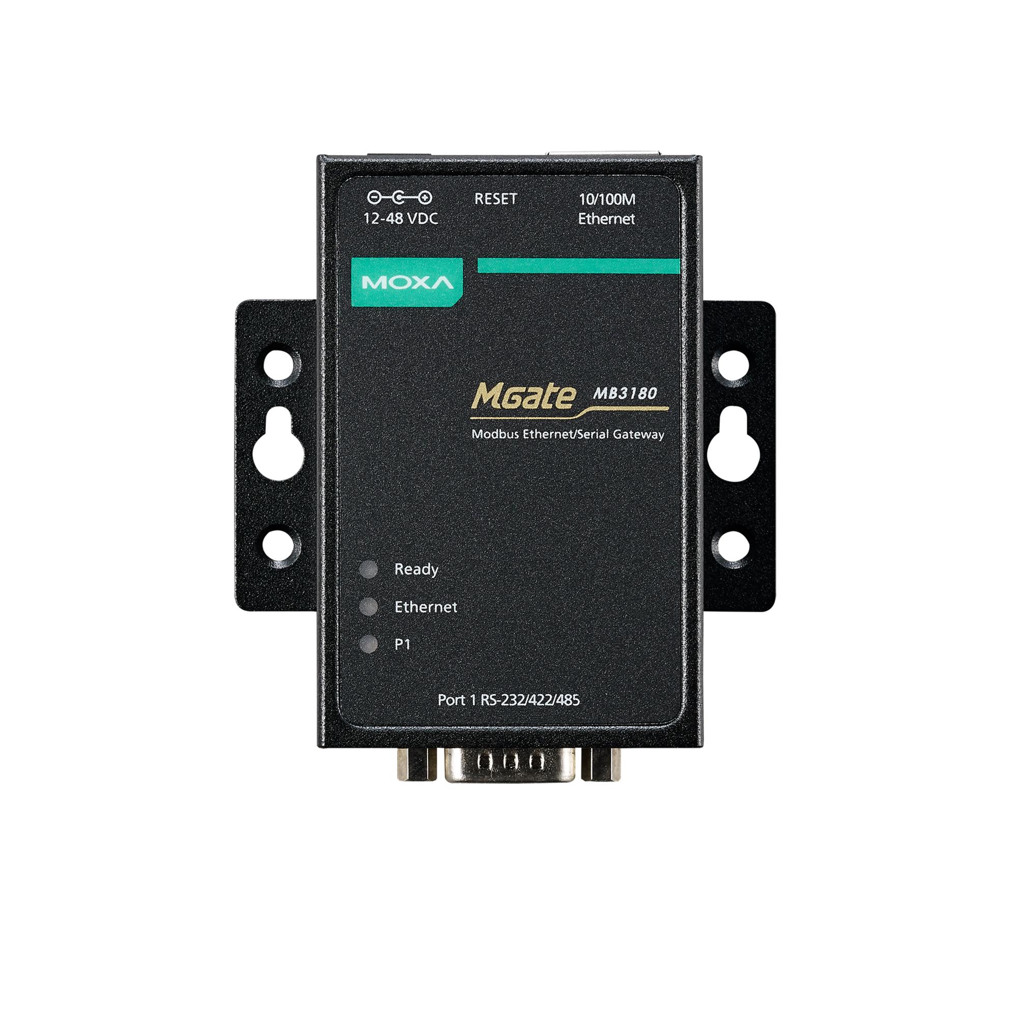 MGate MB3180/MB3280/MB3480 Series - Modbus TCP Gateways | MOXA