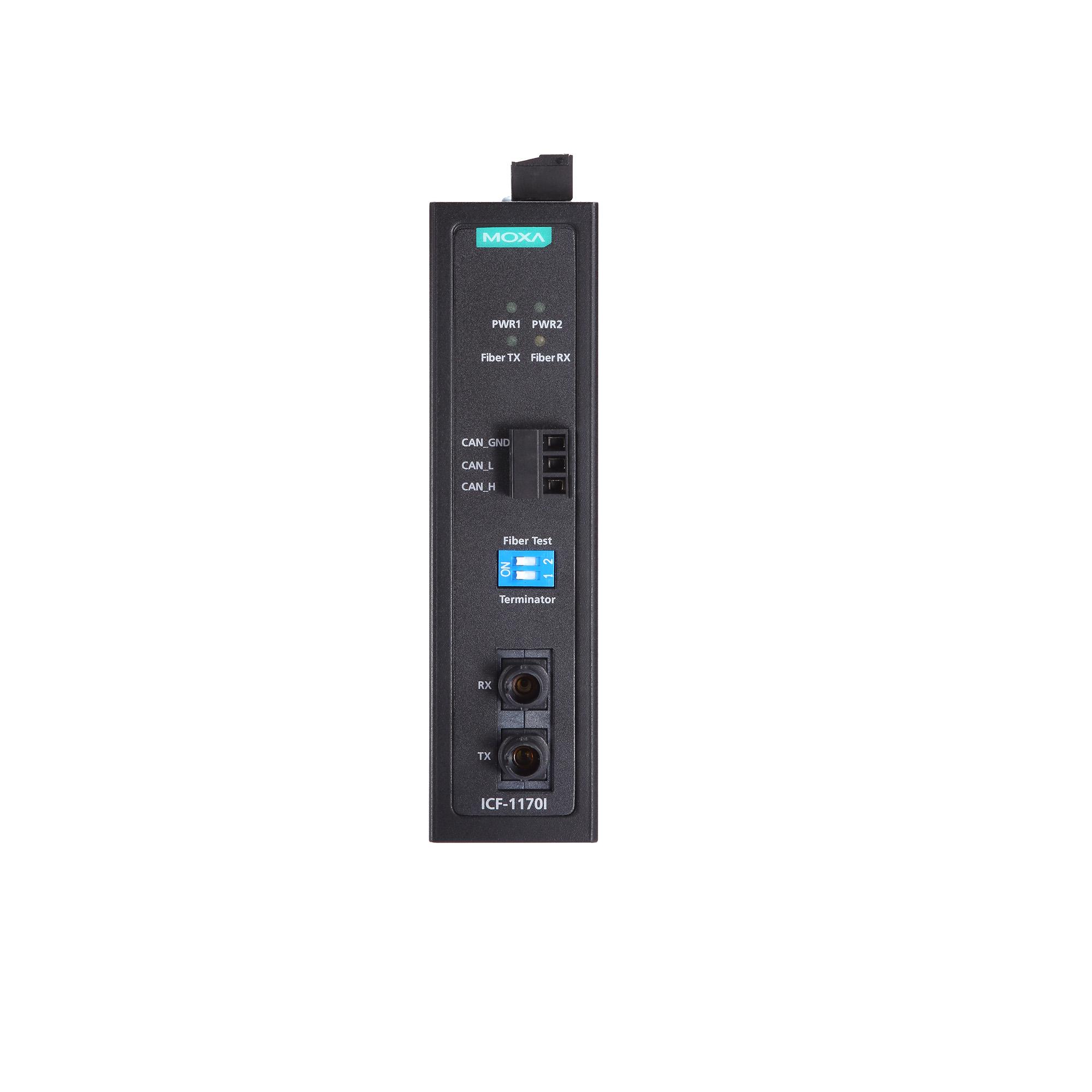 ICF-1170I Series - Fieldbus-to-Fiber Converters | MOXA
