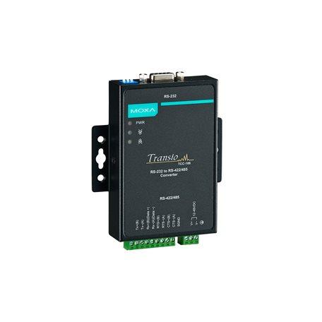 tcc 100 100i series serial to serial converters moxa moxa nport 5450 tcc 100 100i series serial to serial