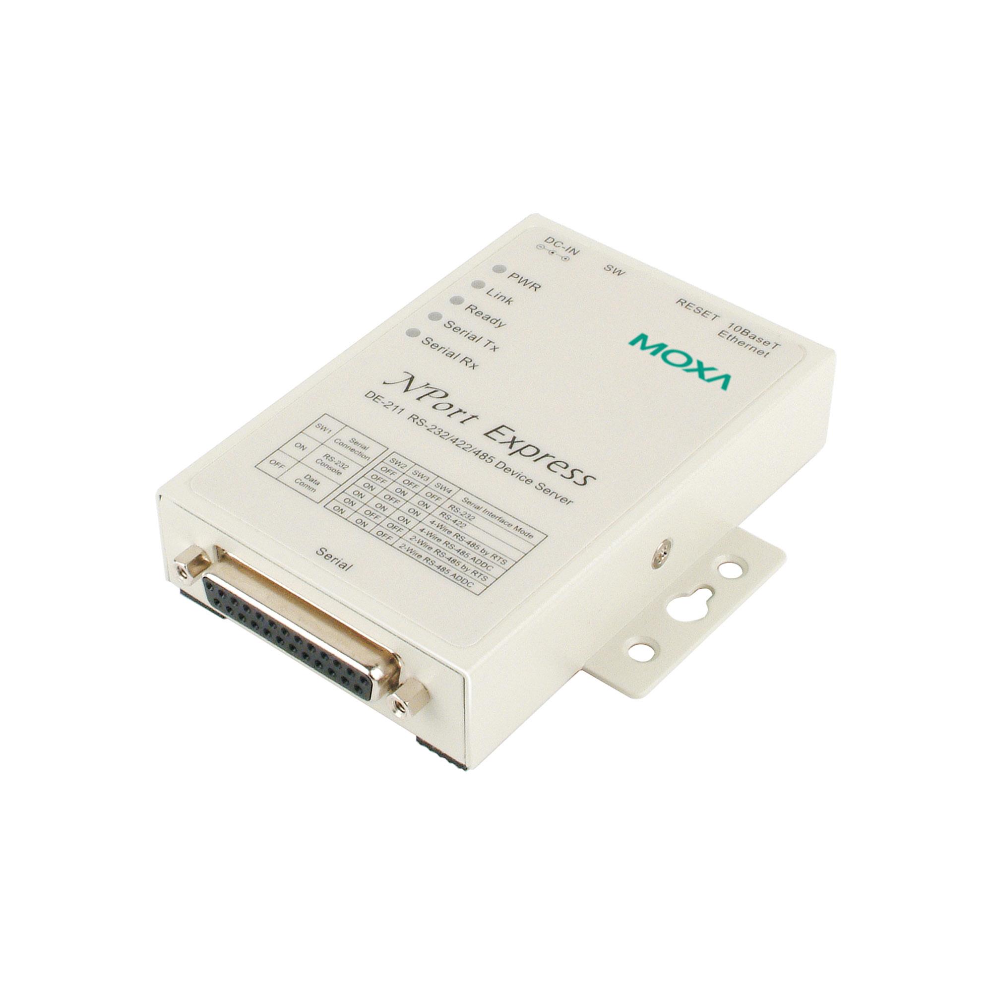 Moxa NPort Express Device Server 10//100M Ethernet  DE-311