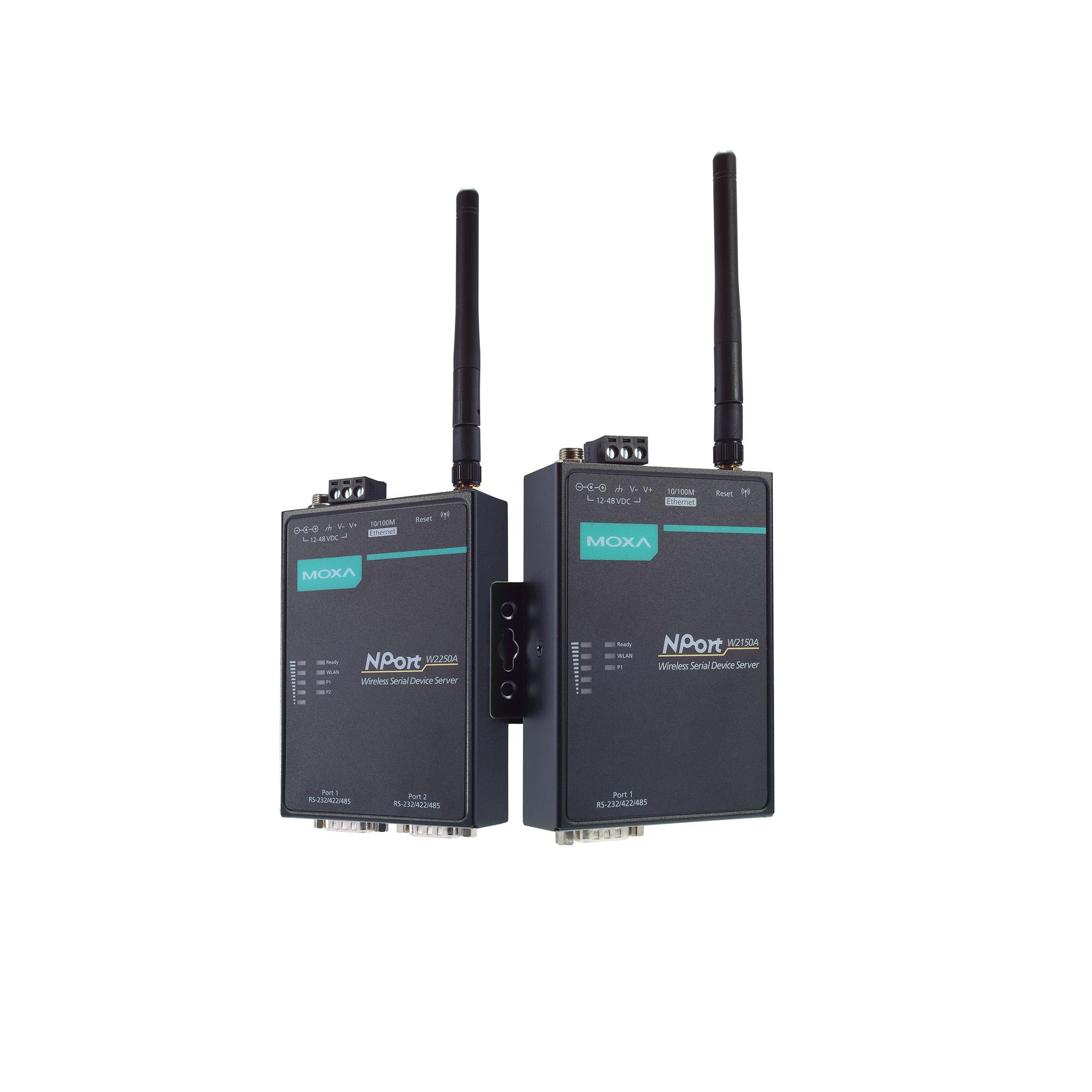 NPort W2150A/W2250A Series - Wireless Device Servers | MOXA