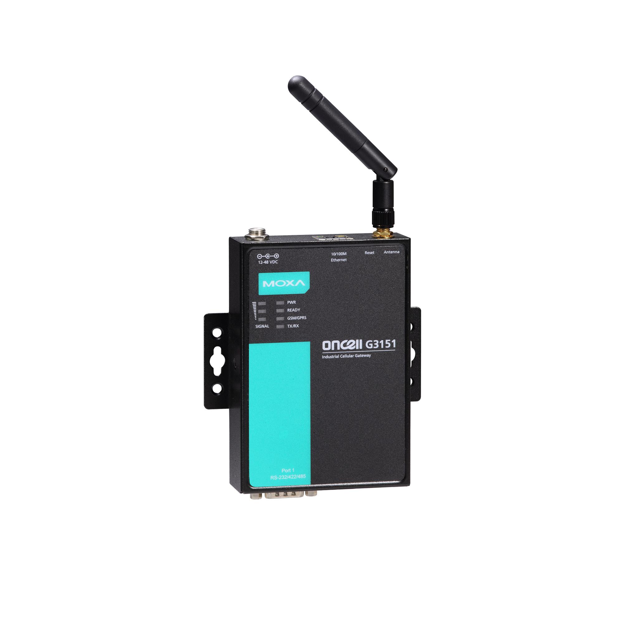 OnCell G3101/G3201 Series - Cellular Gateways | MOXA
