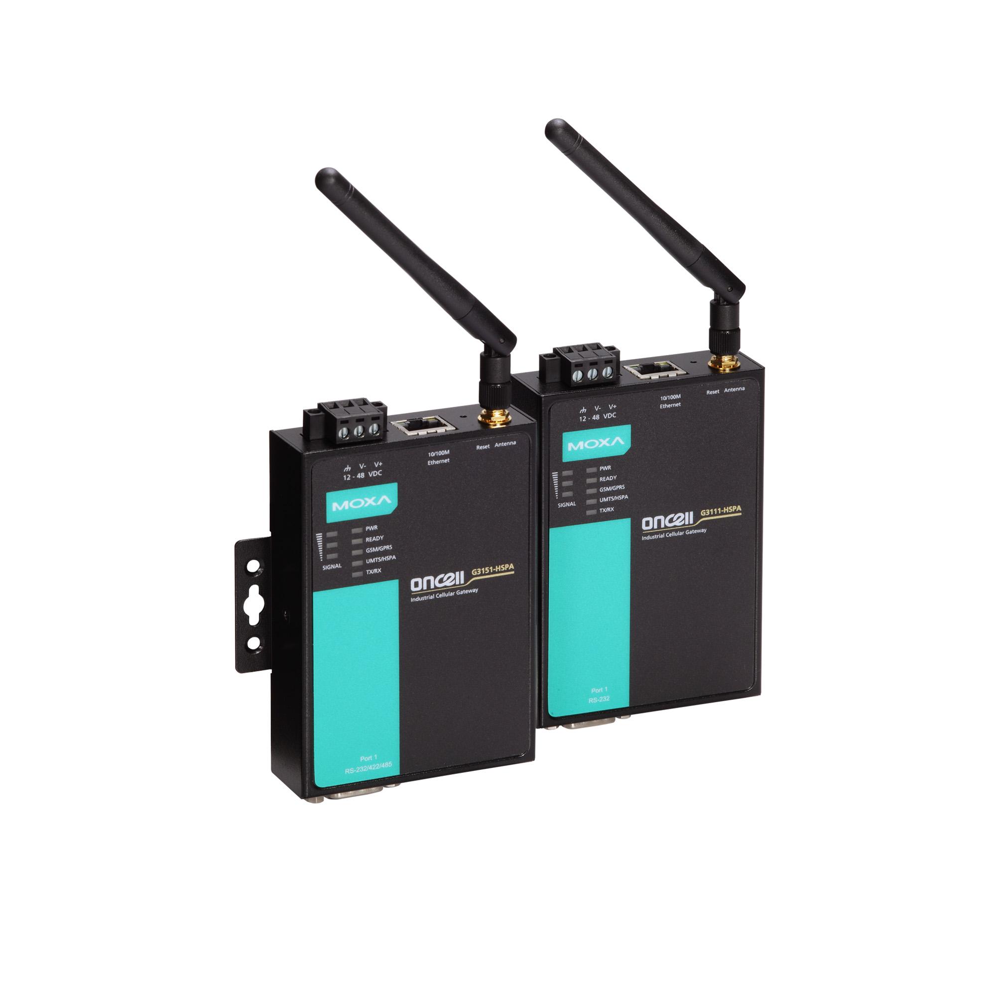 OnCell G3101-HSPA Series - Cellular Gateways   MOXA