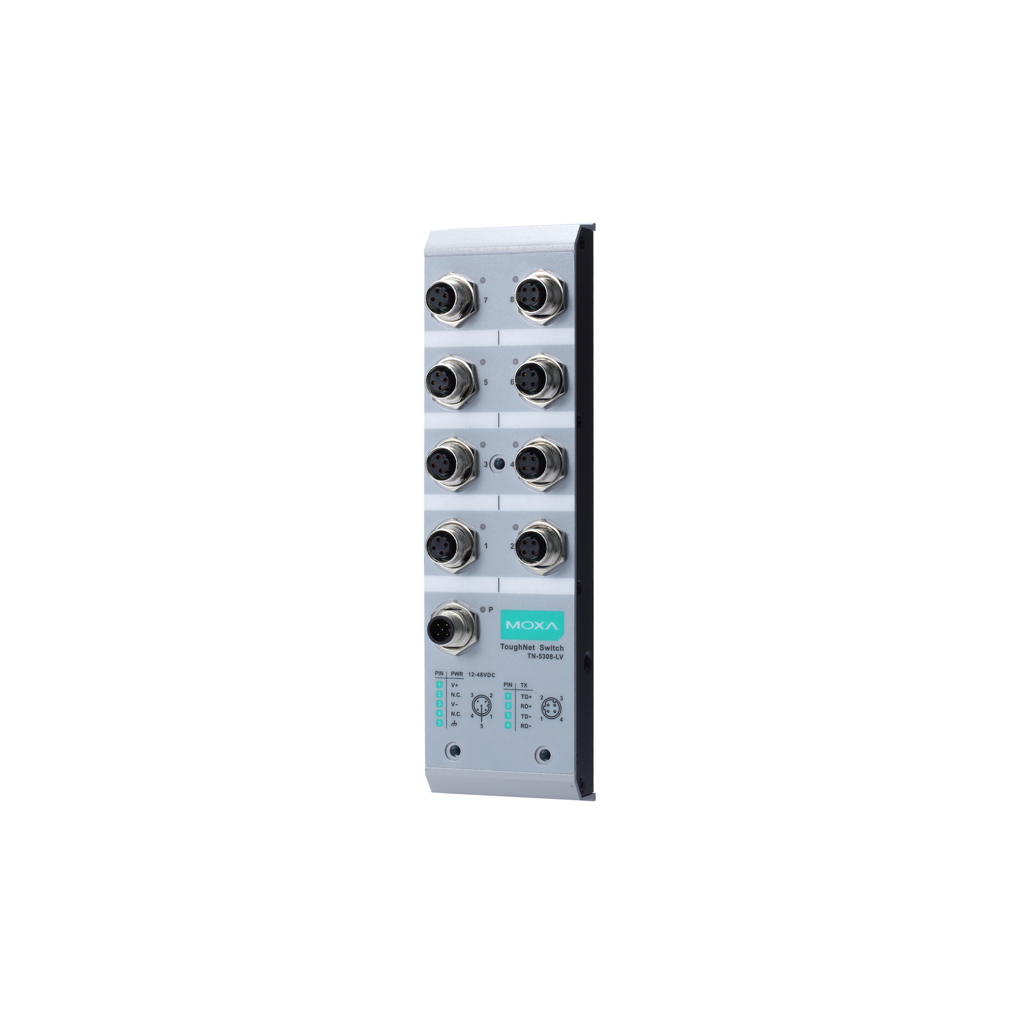 Commercial Grade Wall Plate Ethernet 4 Port 10 pack