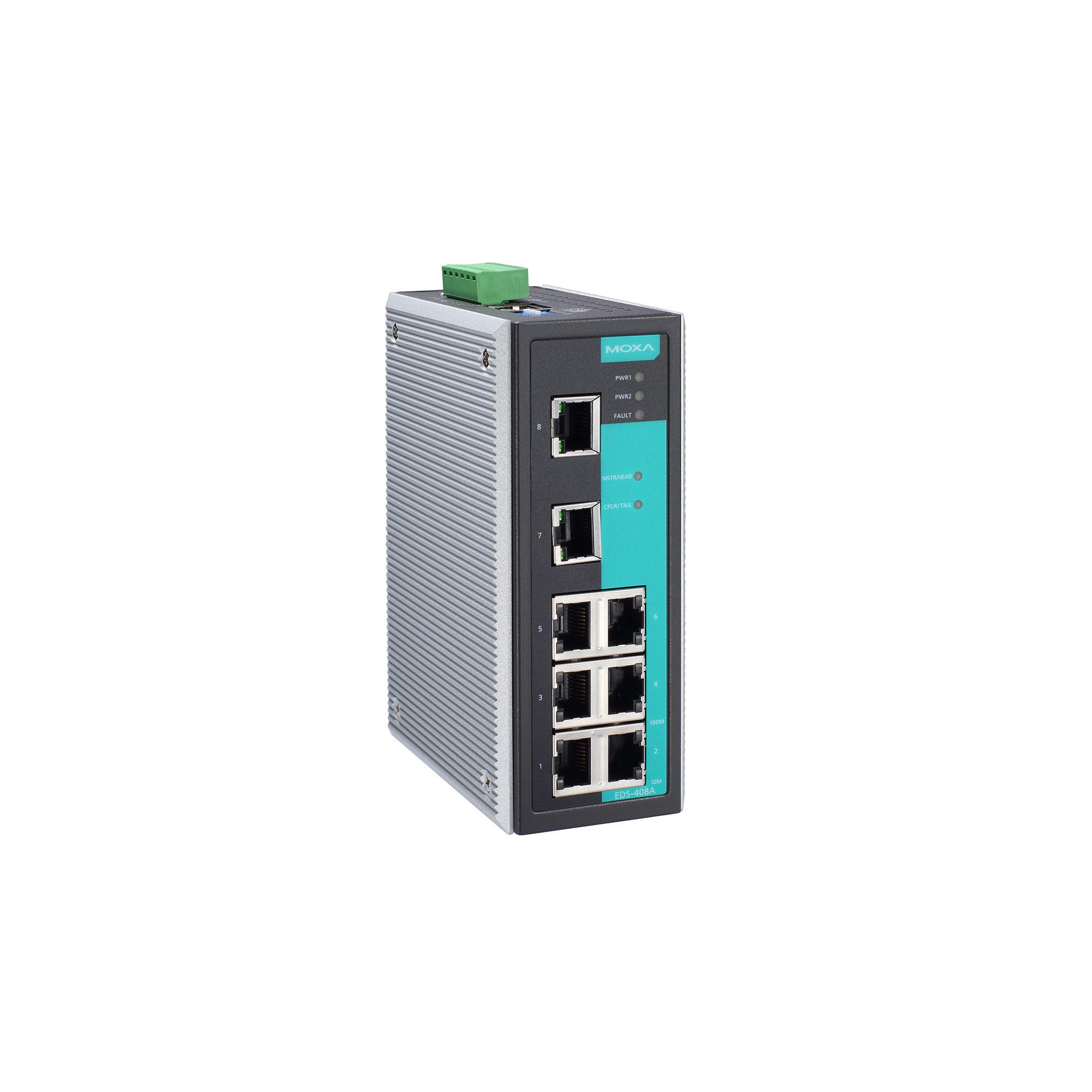 EDS-408A Series - Layer 2 Managed Switches | MOXA