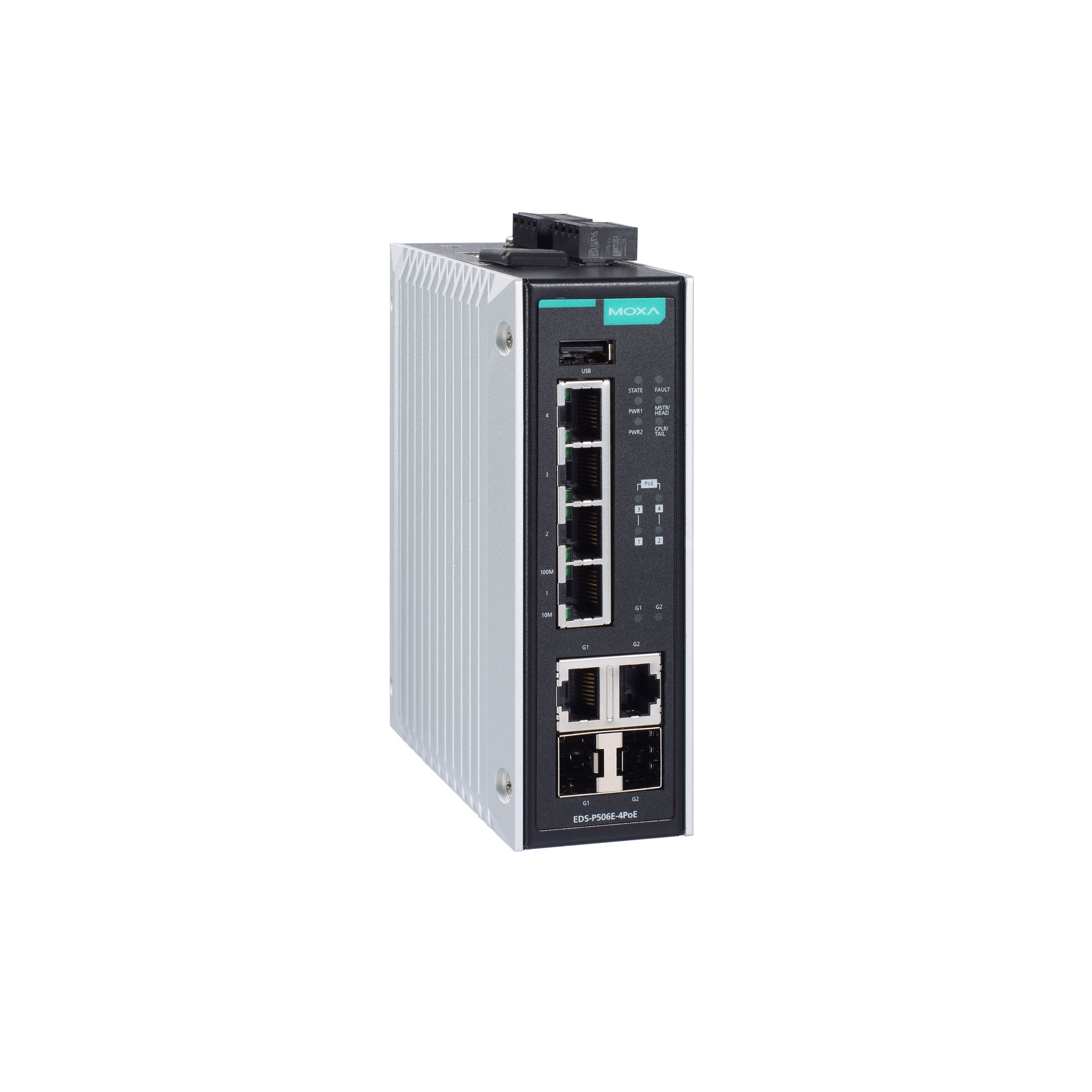 EDS-P506E Series - Layer 2 Managed Switches   MOXA