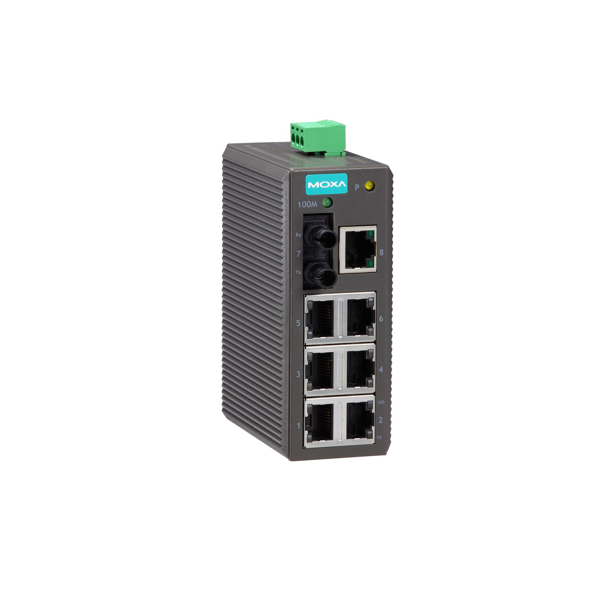 EDS-208 Series - Unmanaged Switches   MOXA