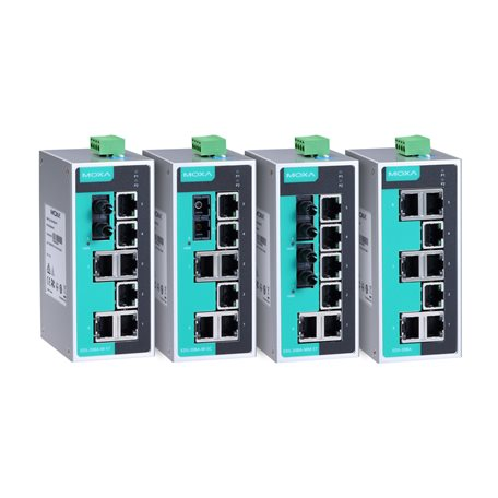 EDS-208A Series - Unmanaged Switches | MOXA