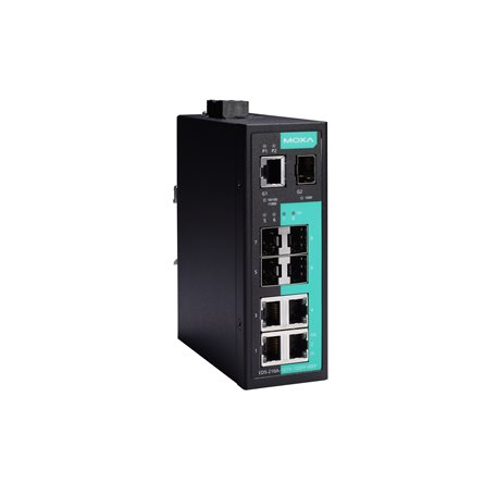 EDS-210A Series - Unmanaged Switches   MOXA