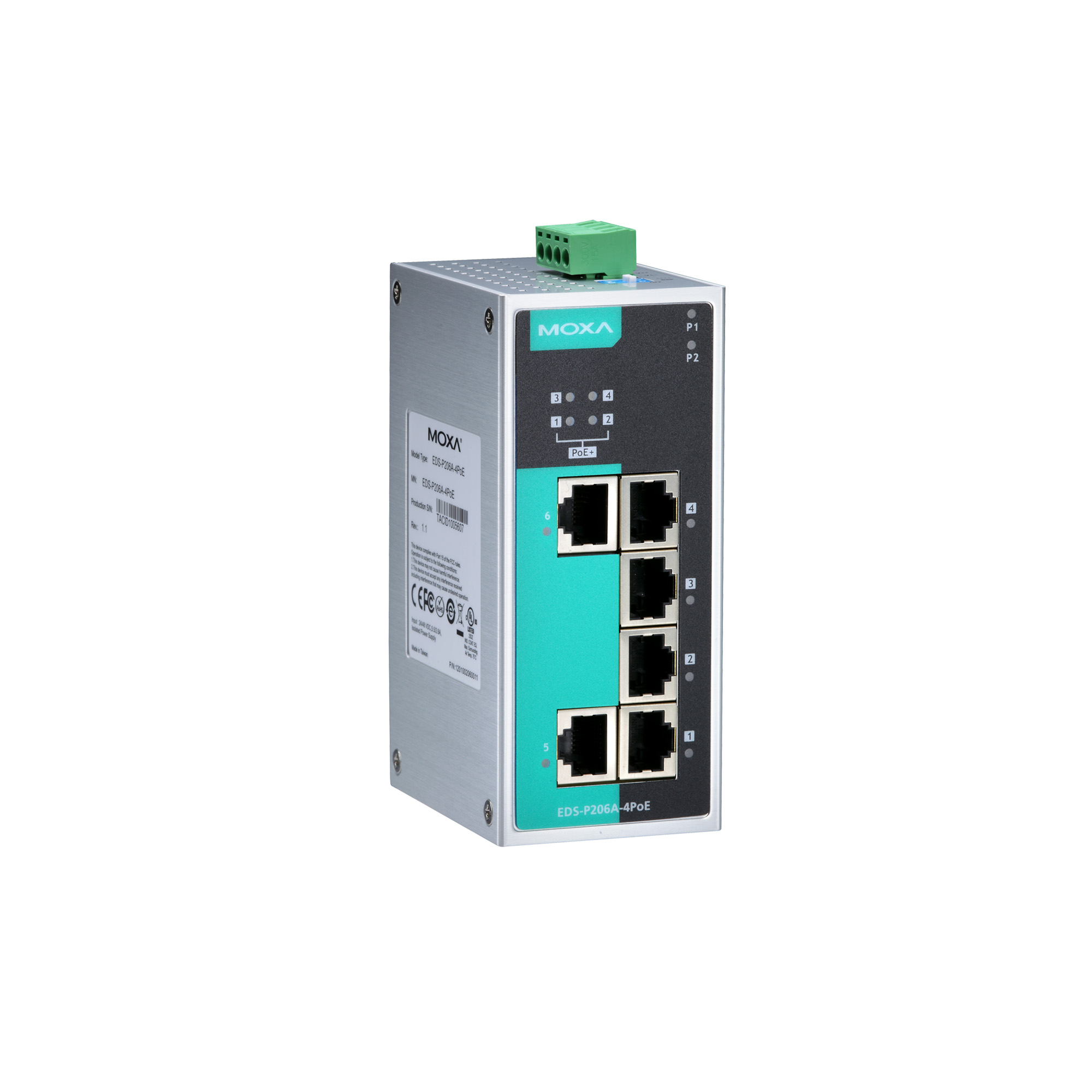 Eds P206a Series Unmanaged Switches Moxa