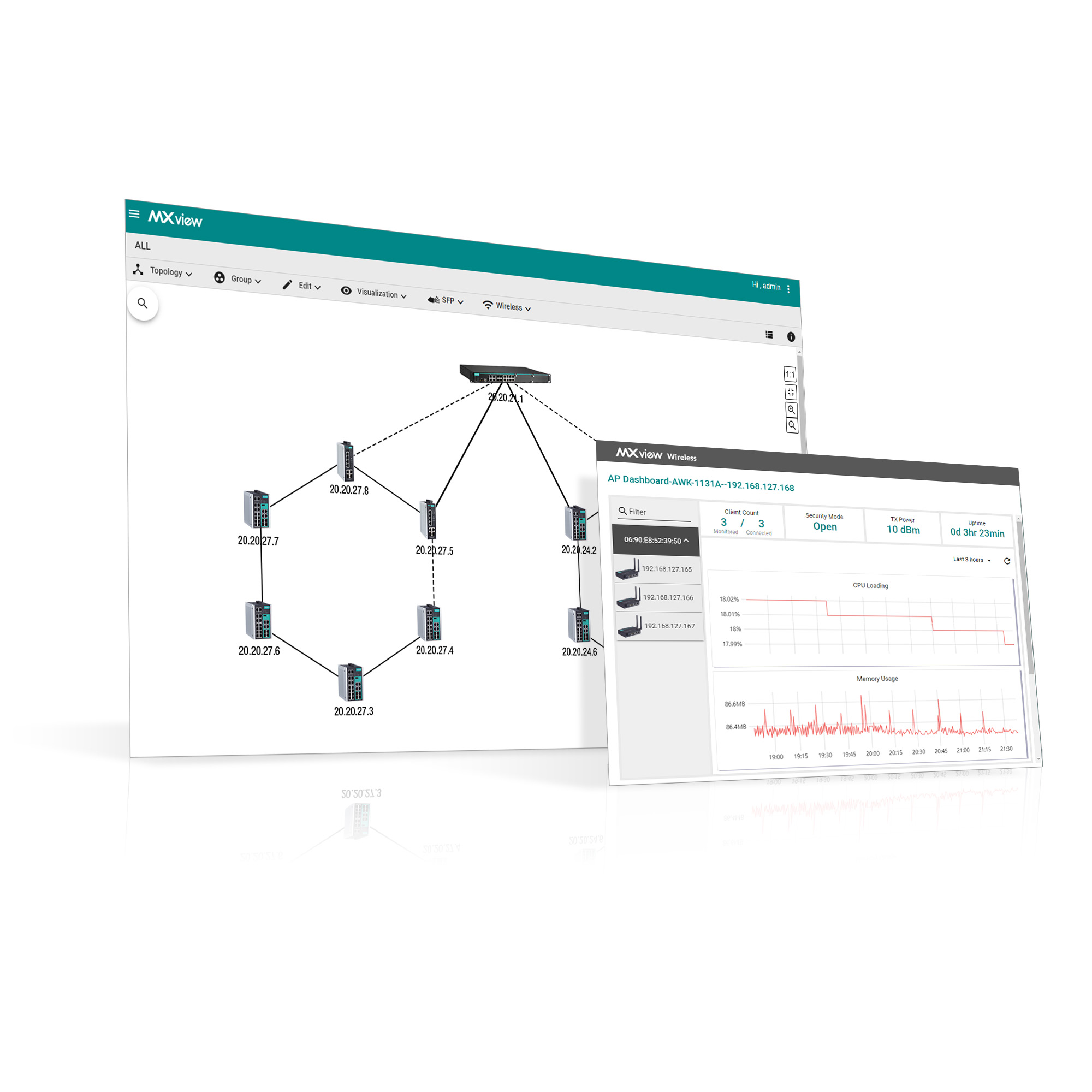 MXview Series - Network Management Software   MOXA